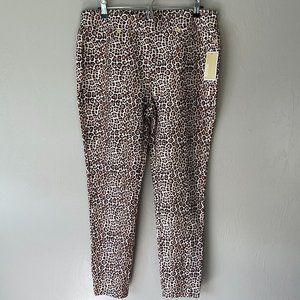 Michael Michael Kors Cheetah Print Jeggings